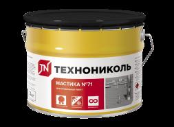 Мастика герметизирующая ТЕХНОНИКОЛЬ №71, ведро 3кг