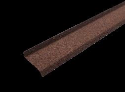 ТЕХНОНИКОЛЬ HAUBERK планка цокольная, терракотовый
