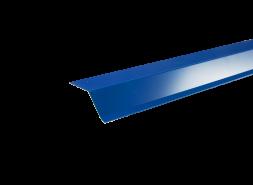 Планка карнизная полиэстер RAL 5005 синяя, шт.