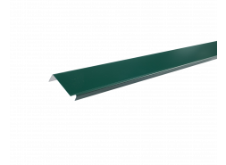 Планка примыкания полиэстер RAL 6005, зеленая, шт.