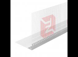 Профиль угловой ПВХ с армирующей сеткой 10х15 ТЕХНОНИКОЛЬ