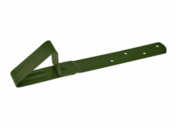 Снегозадержатель Aquasystem для мягкой кровли RAL 6020, зеленый