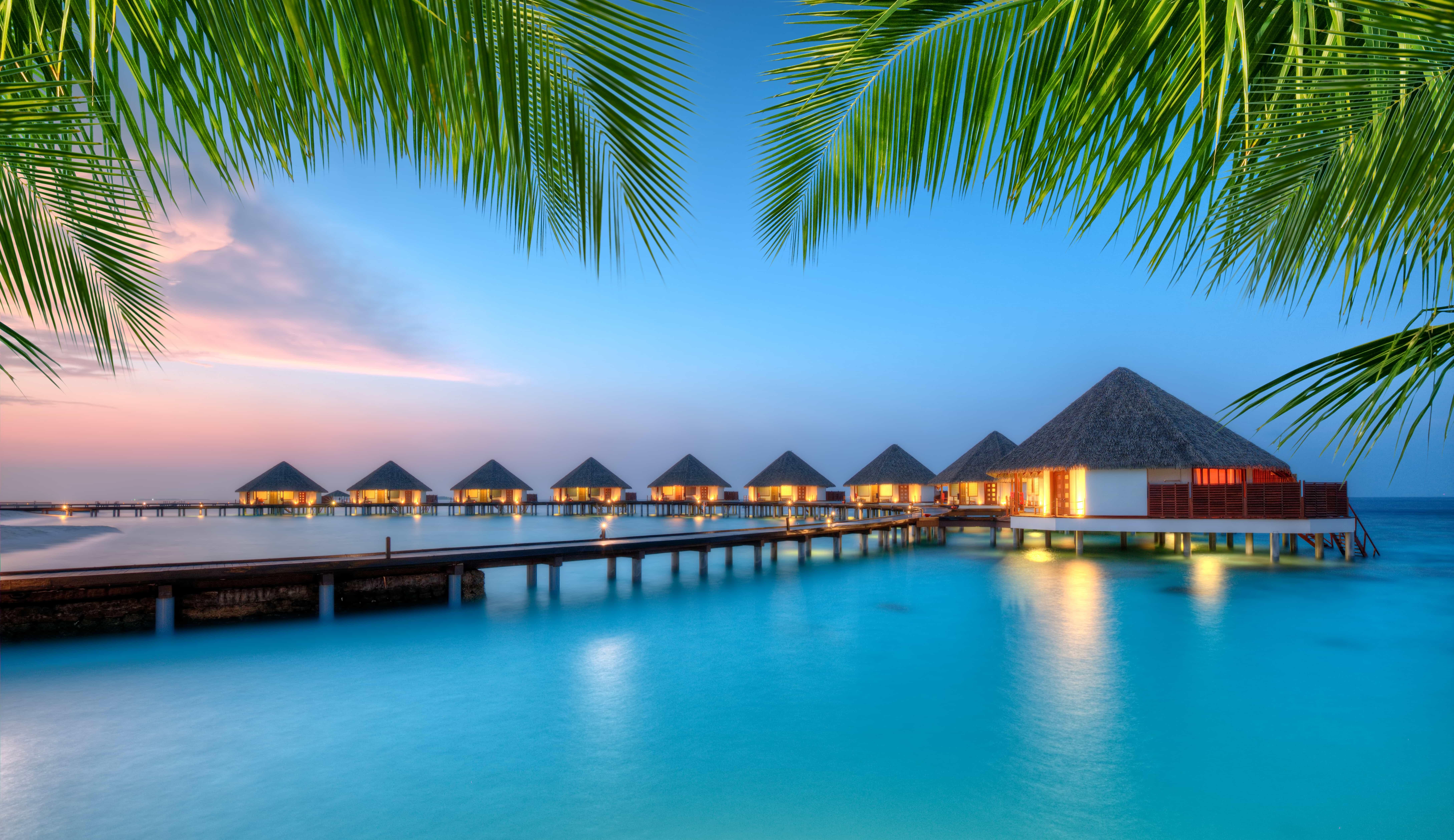Выиграй путешествие на Мальдивы